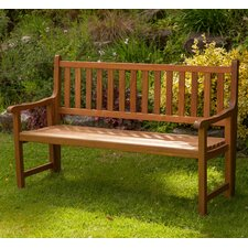 St Andrews 3 Seater Wooden Bench