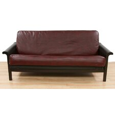 Bordo Faux Leather Futon Slipcover  by Easy Fit