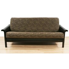 Paisley Coco Cotton Blend Futon Slipcover  by Easy Fit