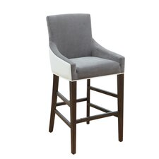 """5West Vincent 26"""" Bar Stool with Cushion"""