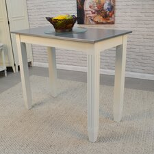 Citronelle Galvanized Counter Height Pub Table