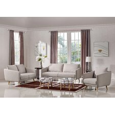 Alivia Upholstered Sofa Set