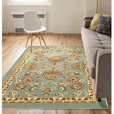 Kings Court Tabriz Blue Indoor/Outdoor Area Rug