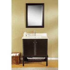 "Simba 32"" Single Bathroom Vanity Set with Mirror"