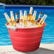 Collapsible Beverage Tub Ice Bucket