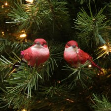 Delightful Bird Christmas Ornament (Set of 12)