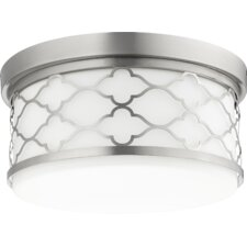 Trellis 3-Light Flush Mount