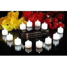 LED Battery Powered Flameless Candle (Set of 12)