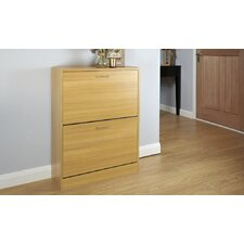 Humphrey 12-Pair Shoe Storage Cabinet