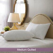 Wayfair Basics Medium Quilted Pillow (Set of 2)