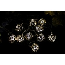 3 Piece 10 Light LED Novelty String Light Set