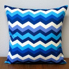 Panama Wave Zig Zag Outdoor Pillow Cover (Set of 2)