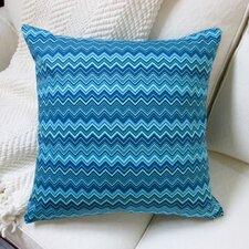 Zig Zag Cotton Pillow Cover