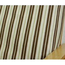 Hampton Stripe Cotton Blend Futon Slipcover  by Easy Fit