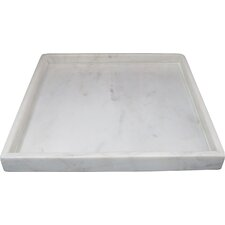 High Wall Agra Square Marble Serving Tray