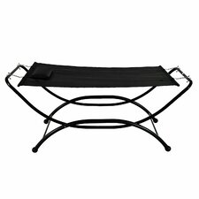 Heavy Duty Polyester Hammock with Stand