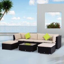 4 Seater Sectional Sofa Set with Cushions