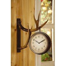 Antique Brown Deer Park Clock