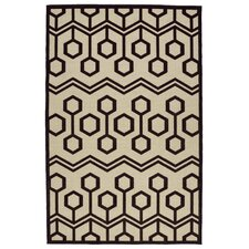 Shirehampton Brown/Cream Indoor/Outdoor Area Rug