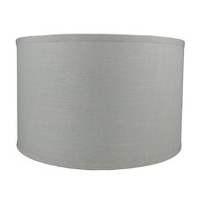 "Classic Smooth 16"" Linen Drum Lamp Shade"