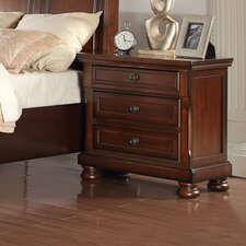 American Heritage 2 Drawer Nightstand