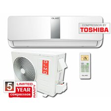 Ductless Mini Split Air Conditioner with Remote