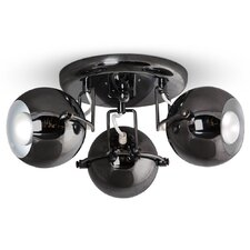 Retro Eyeball 3-Light Ceiling Spotlight