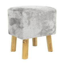 Wood Accent Stool