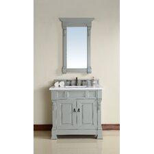 "Brookfield 36"" Single Urban Gray Bathroom Vanity Set"