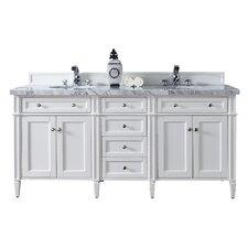 "Brittany 72"" Double Bathroom Vanity Base"