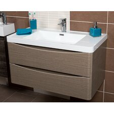 Stanhope 90cm Wall Mounted Vanity Unit