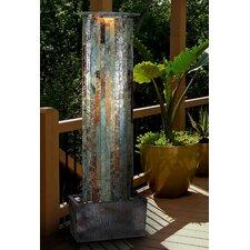 natural stone aveline wall slate floor fountain - Slate Wall Fountains Indoor