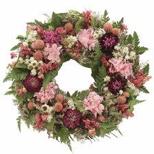Berry Pink Garden Wreath