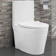 St. Tropez® Dual Flush Elongated One-Piece Toilet