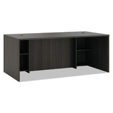 Laminate Series Breakfront Desk Shell