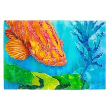 Grouper in the Green Placemat (Set of 2)