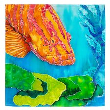 Grouper in the Green Napkin (Set of 2)