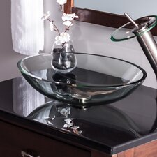 Ovale Oval Vessel Bathroom Sink