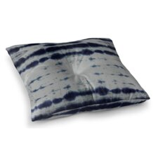 Shibori Stripe Square Floor Pillow