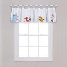 "Dr. Seuss Friends 56"" Window Valance"