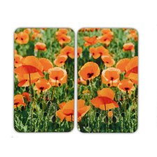 Poppy Field Universal Cover Panel (Set of 2)