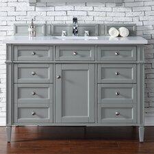 "Brittany 48"" Single Urban Gray Bathroom Vanity Set"