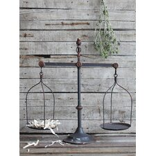 Rustic Scale Decor