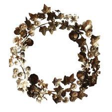 Round Metal Wreath
