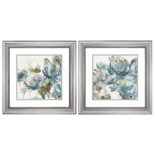Secret Garden 2 Piece Framed Painting Print Set