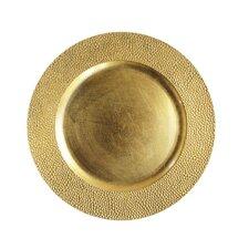 """Renninger 13"""" Melamine Sand Charger Plate (Set of 4)"""
