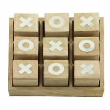 wood tic tac toe box - Decorative Boxes