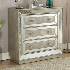 Sofia 3 Drawer Chest of Drawers