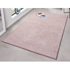 Teppich Pure in Rosa
