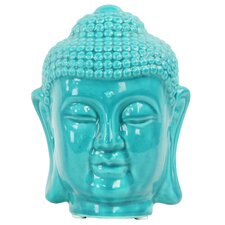 Buddha Head with Rounded Ushnisha Bust